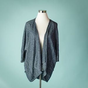 Athleta L Cavallo Cashmere Linen Cardigan Sweater